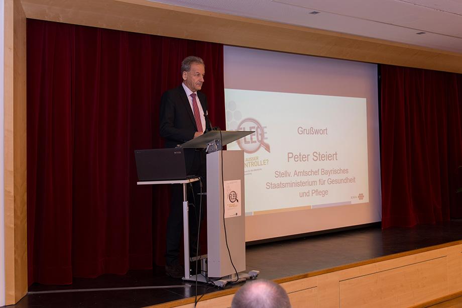 Peter Steiert, stv. Amtschef am Bayer. Ministerium für Gesundheit und Pflege