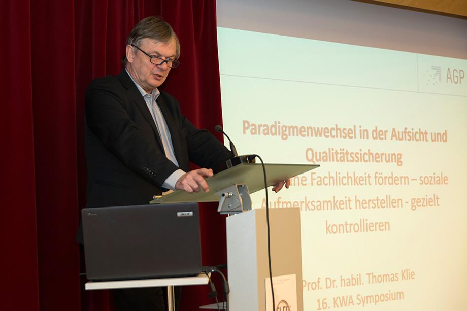 Prof. Dr. Thomas Klie, Leiter des Instituts agp Sozialforschung an der Hochschule Freiburg