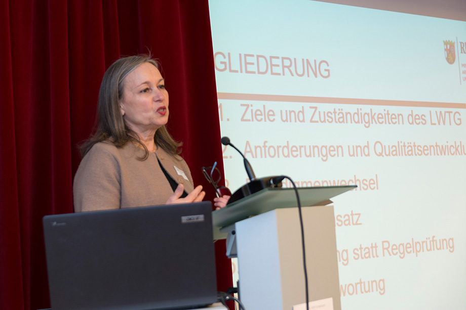 Ingeborg Germann, vom Rheinland-Pfälzischen Sozialministerium
