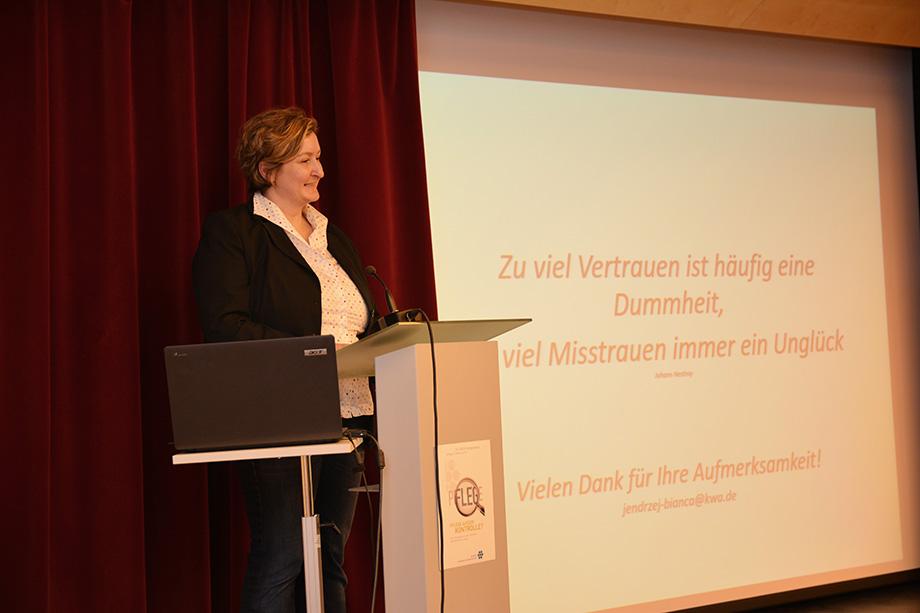 Bianca Jendrzej, Leiterin der Abt. Qualität, Prozesse, Strukturen bei KWA Kuratorium Wohnen im Alter