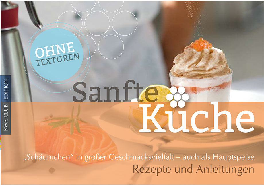 Cover des KWA Rezeptbuchs Sanfte Küche