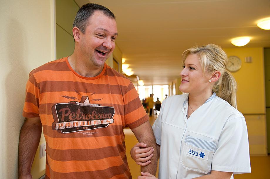 Begleitung und Pflege im KWA Stift Rottal Bad Griesbach
