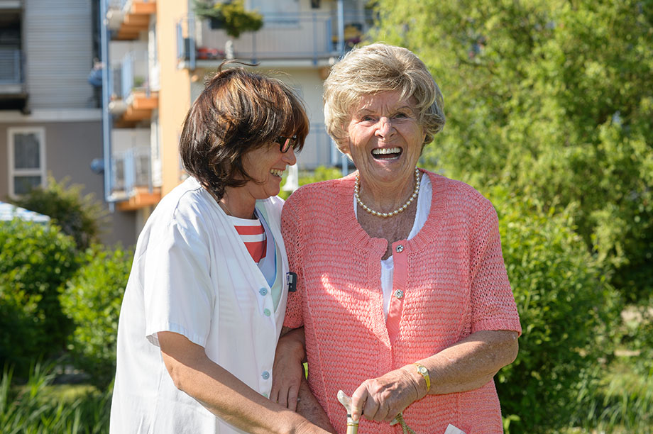 Begleitung und Pflege im KWA Parkstift Aeskulap in Bad Nauheim