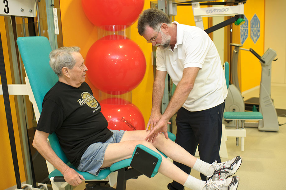 Physiotherapie im KWA Kurstift Bad Dürrheim