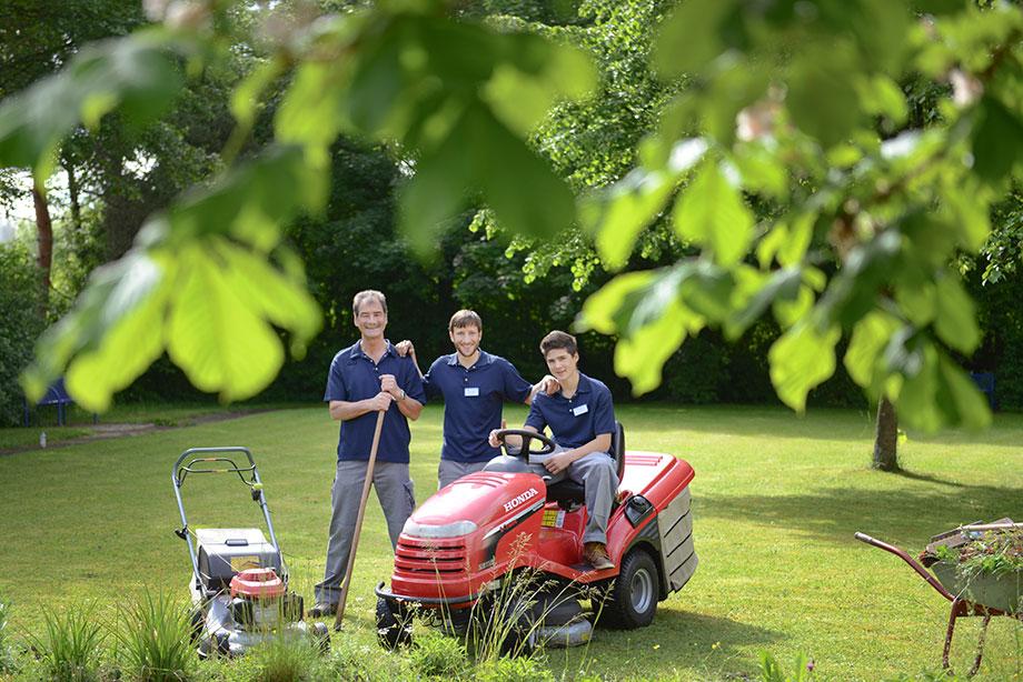 Gartenpflege im KWA Kurstift Bad Dürrheim
