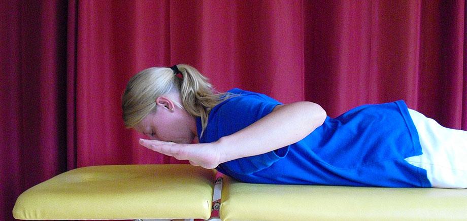 Übung zu einem KWA Physio-Tipp von Arthur Danner