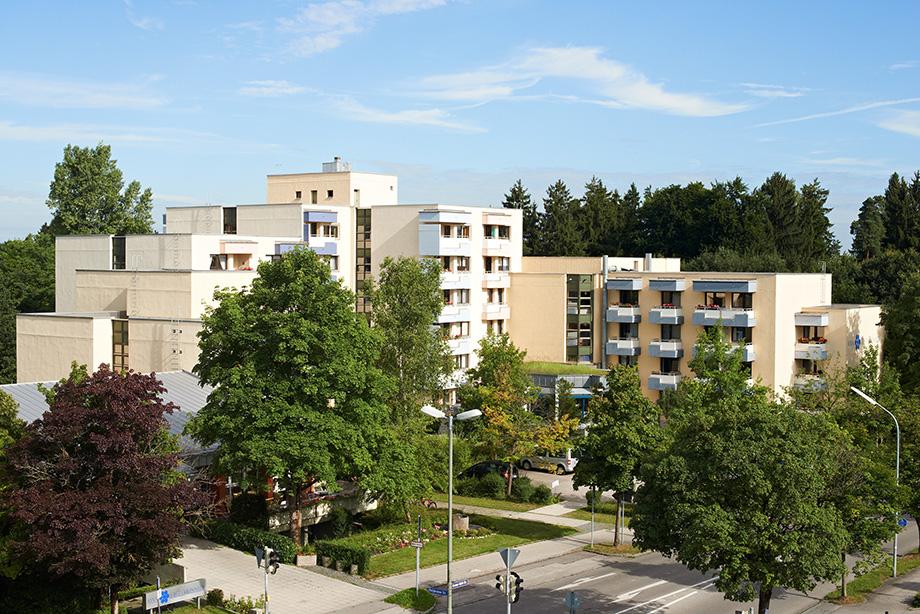 KWA Stift Brunneck in Ottobrunn, Außenansicht