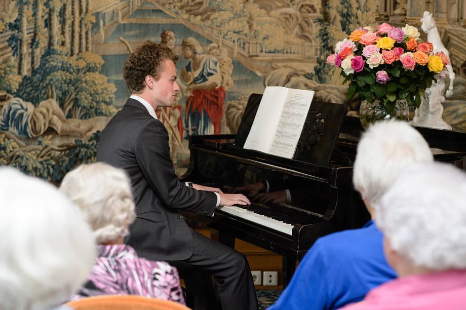 Klavierkonzert im KWA Wohnstift
