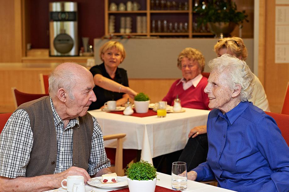 Café des Pflege-Wohnheims KWA Luise-Kiesselbach-Haus