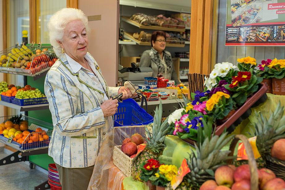 Laden für Bewohner und Gäste des KWA Parkstifts Rosenau