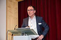 Bernhard Schneider (Hauptgeschäftsführer Evang. Heimstiftung) erläuterte beim KWA Symposium 2020 die Reformvorschläge der Initiative Pro-Pflegereform.