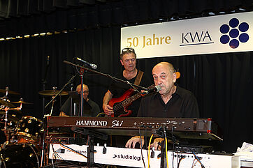 Jürgen Waidele & Band --- Fotos: Oliver Hanser