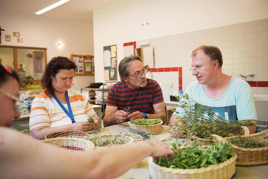 Zahlreiche Aktivitäten sorgen für motivierende Gemeinschaftserlebnisse.