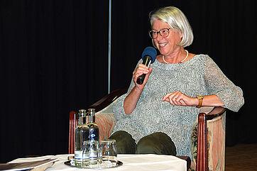 Talk im KWA Parkstift Rosenau in Konstanz mit der Gleichstellungsbeauftragten Christa Albrecht
