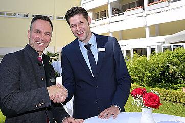 Marco Kuhn-Schönbeck u. Marius Schulze Beiering (rechts)