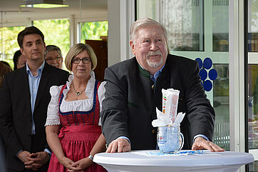 KWA Mitbegründer Hermann Beckmann wurde als Ehrengast begrüßt