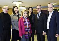 Prof. Dr. Roland Schmidt; Mona Frommelt; Prof. Dr. Ursula Engelen-Kefer; Dr. Stefan Arend; Michael Pfitzer
