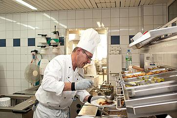 Essen aus der Stiftsküche: täglich frisch zubereitet