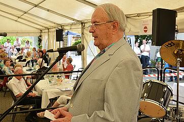 Fred Rauch, Vorsitzender des Stiftsbeirats im KWA Parkstift Aeskulap