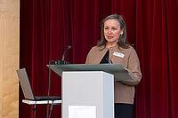 Ingeborg Germann, Leiterin des Referats 646 am Ministerium für Soziales, Arbeit, Gesundheit und Demographie in Rheinland-Pfalz