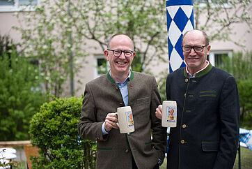 Dr. Stefan Arend und Horst Schmieder