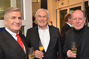 KWA Aufsichtsräte, v. l. Wolf-Dieter Krause, Manfred Matusza (AR-Vors.), Prof. Roland Schmidt