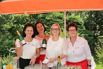 Serviceteam des KWA Parkstifts Hahnhof