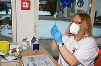 Impftermin im KWA Stift Rupertihof in Rottach-Egern. Ein herzliches Dankeschön allen Impfteams in ganz Deutschland, die in KWA Einrichtungen kommen! – Fotos: KWA / Hauke Thomas