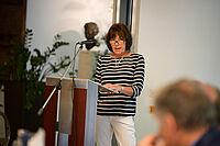 Renate Wiesent beim Stiftsjubiläum im KWA Luise-Kiesselbach-Haus in München-Riem