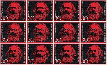 Bundesrepublik Deutschland, 1968, 29. April. 150. Geburtstag von Karl Marx.