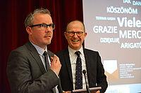 Prof. Dr. Michael Isfort vom Deutschen Institut für Pflegeforschung und KWA Vorstand Dr. Stefan Arend