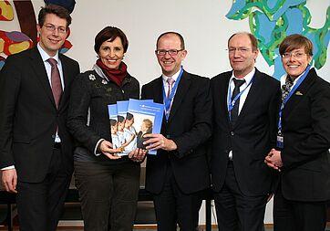 Christine Haderthauer, Markus Blume, Dr. Stefan Arend, Horst Schmieder