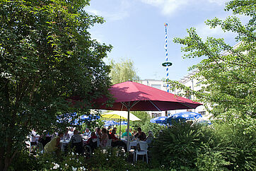 Garten des KWA Luise-Kiesselbach-Hauses