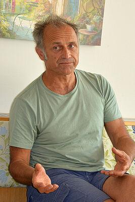 """Andreas Weisser stellte seinen Workshop unter das Thema """"Humor als Türöffner"""""""
