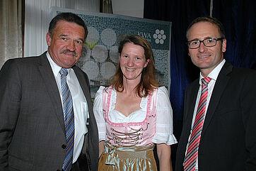 Links: Bad Griesbachs Erster Bürgermeister Jürgen Fundke