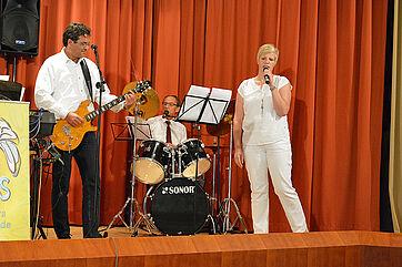 Die KWA Band: Andreas Lorz, Manfred Zwick, Andrea Wurm