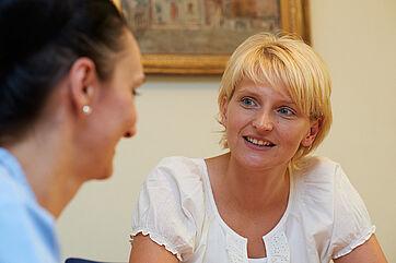 Tina Mohr, Pflegedienstleiterin im KWA Luise-Kiesselbach-Haus in München-Riem