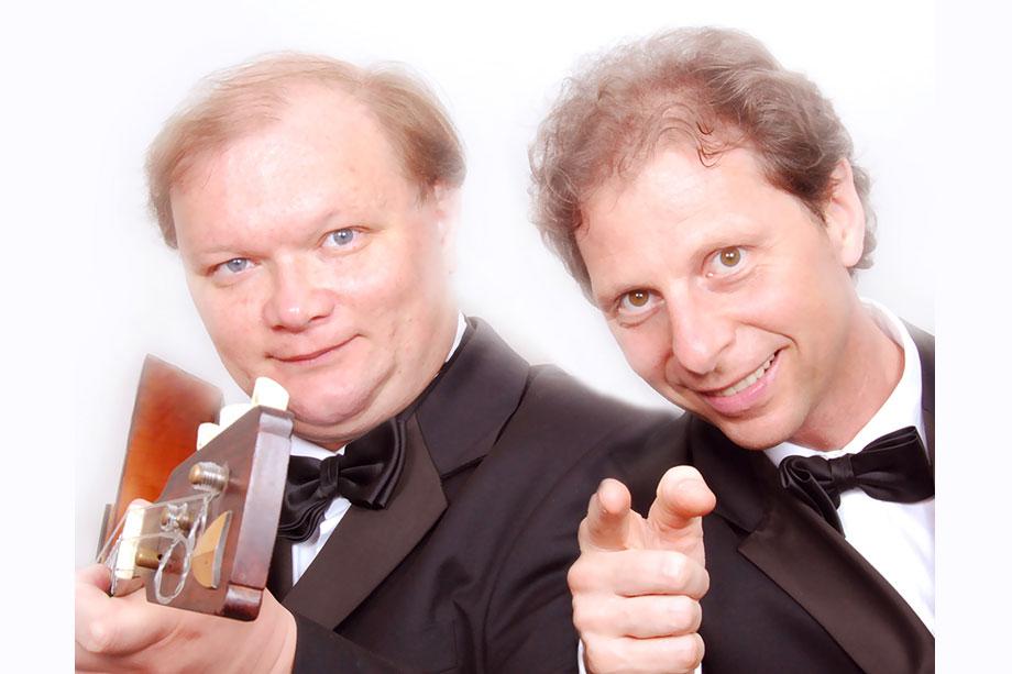 Das Duo Lothar Freund (Klavier) / Andreij Gorbatschow (Balalaika) präsentierte Werke von de Falla, Scarlatti, Rachmaninoff und Zigankow