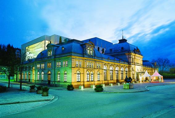 Baden-Baden - das Festspielhaus.
