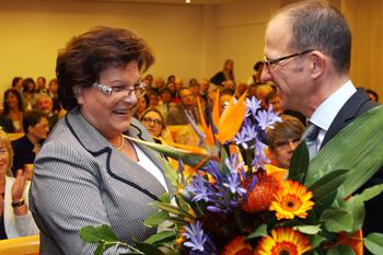Vorstand bedankt sich bei der Präsidentin des Bayerischen Landtags