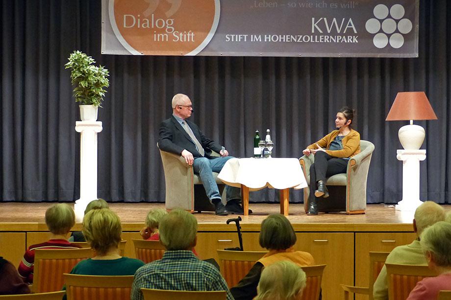 Im März 2019 sprach Moderator Reinhard von Struve mit Patricia Rahemipour, der Leiterin des Museums im Botanischen Garten.