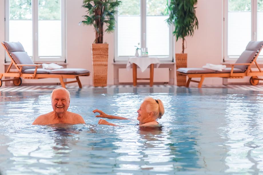 Regelmäßiges Schwimmen zum Erhalt der Gesundheit und der guten Laune.