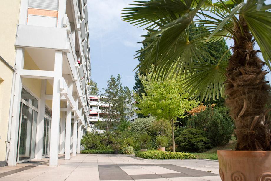 Das KWA Parkstift Hahnhof ist ein offenes Haus. Interessenten stehen gemütliche Gästewohnungen zum Probewohnen zur Verfügung.