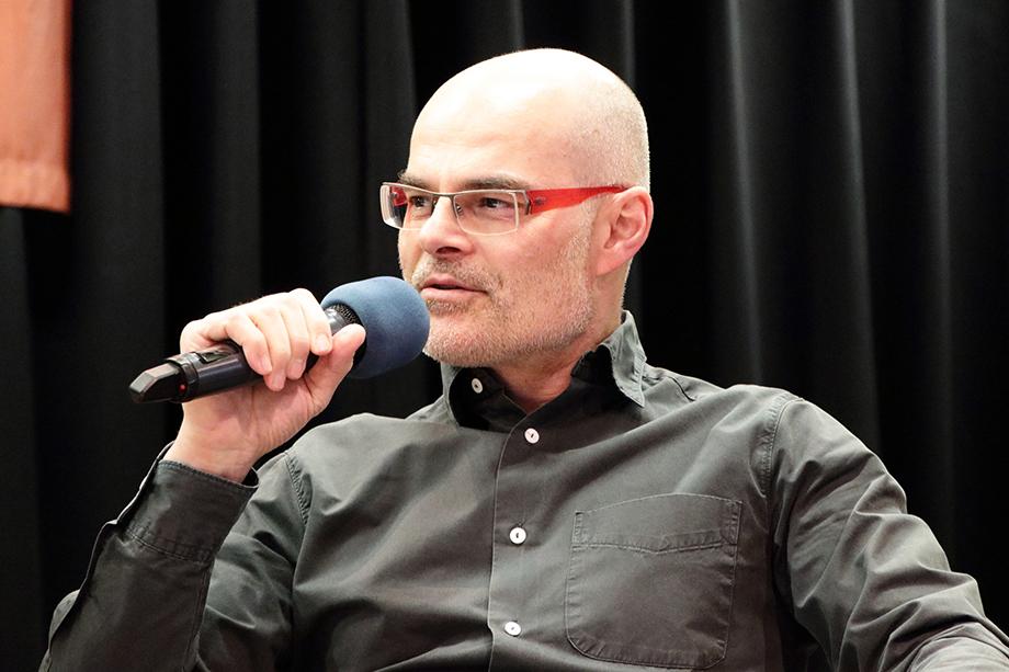 Im Mai 2019 auf der Talkbühne zu Gast: Tobias Bücklein - Autor, Entertainer und Kabarettist, der überdies besondere Show-Konzepte entwickelt.