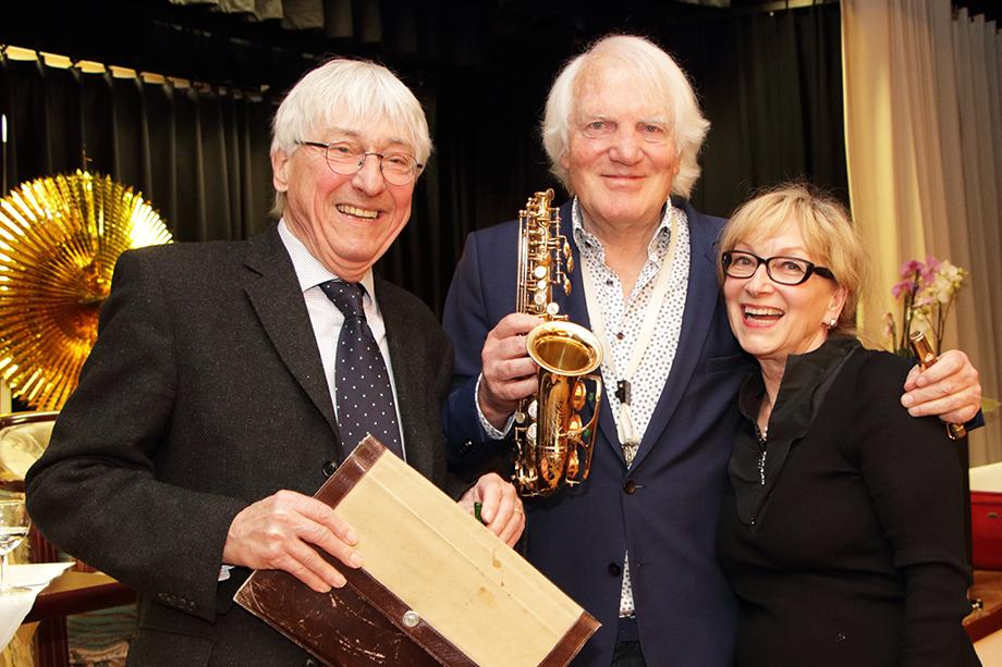 Professor für Popularmusik und Jazz, Bernd Konrad: im Februar 2020 Talkgast im KWA Parkstift Rosenau