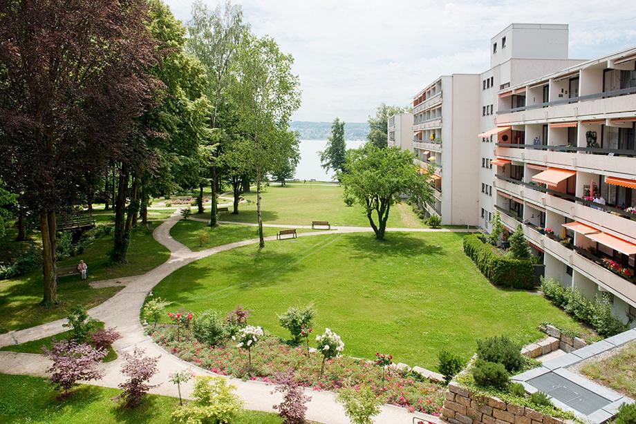 KWA Parkstift Rosenau in Konstanz aus der Vogelperspektive