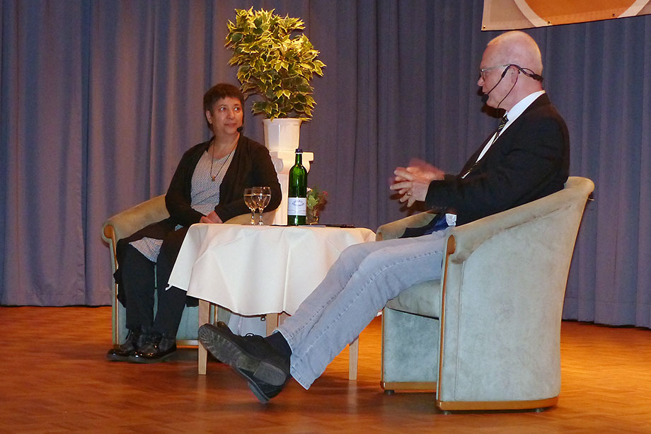 Die Berliner Menschenrechtlerin und Gründerin der ersten deutschen liberalen Moschee, Seyran Ates, sprach im September 2018 über ihre Arbeit und ihr Leben.