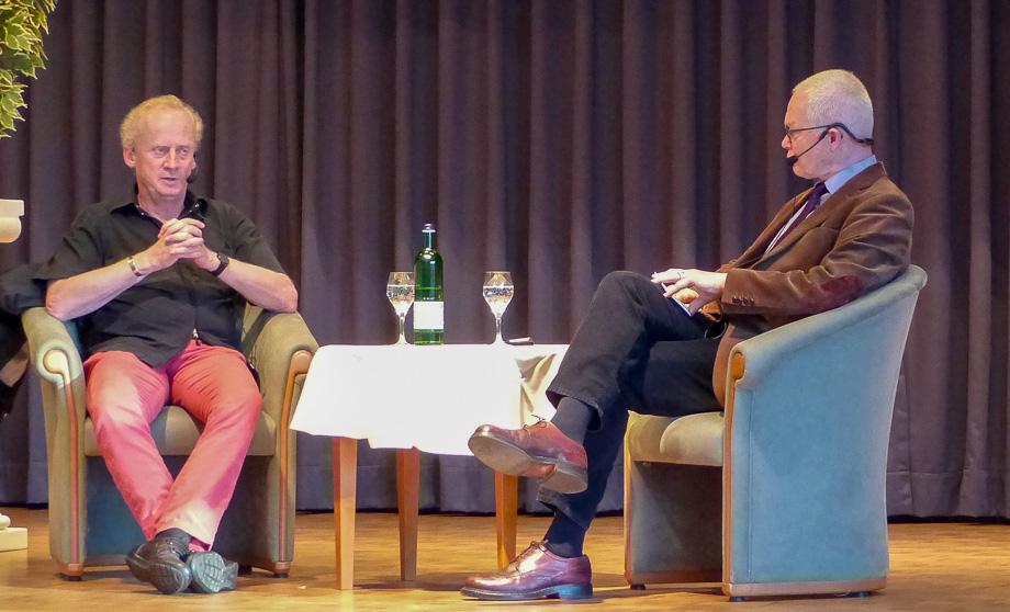"""Der Journalist und Autor Harald Schumann war im Oktober Talkgast beim """"Dialog im Stift""""."""