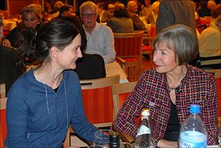 Sandra Häuptli und Sabina Dorner