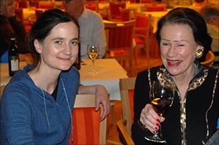 Sandra Häuptli und Monique Würtz